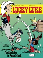 Lucky Luke - Familienkrieg in Painful Gulch Cover