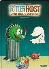 Ritter Rost und das Gespenst, m. Audio-CD Cover