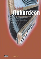 Spiel Akkordeon, m. Audio-CD