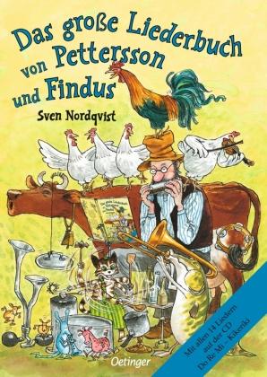 Das große Liederbuch von Pettersson und Findus, m. Audio-CD