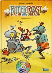 Ritter Rost macht Urlaub, m. Audio-CD Cover