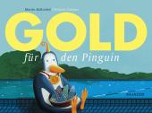 Gold für den Pinguin