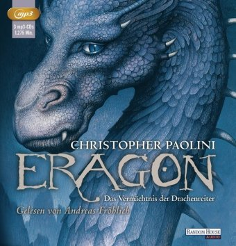 Eragon - Das Vermächtnis der Drachenreiter, 3 MP3-CDs