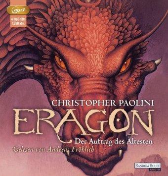 Eragon - Der Auftrag des Ältesten, 4 MP3-CDs