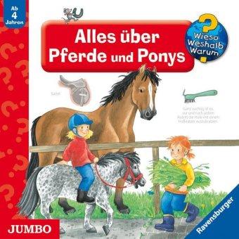 Alles über Pferde und Ponys, Audio-CD