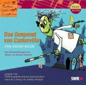 Das Gespenst von Canterville, 1 Audio-CD Cover