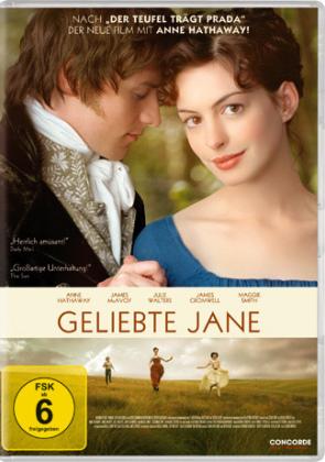 Geliebte Jane, 1 DVD, deutsche u. englische Version