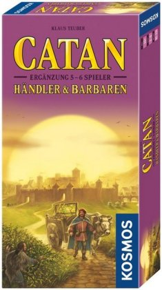 Die Siedler von Catan, Händler & Barbaren, Ergänzung für 5 & 6 Spieler (Spiel-Zubehör)