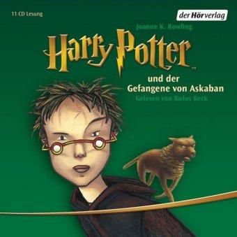Harry Potter und der Gefangene von Askaban, 11 Audio-CDs