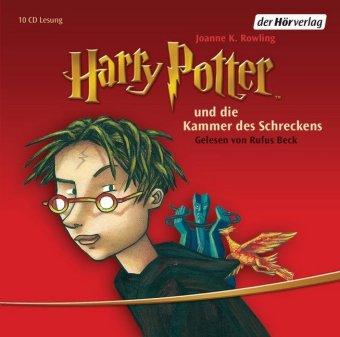 Harry Potter und die Kammer des Schreckens, 10 Audio-CDs