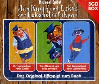 Jim Knopf und Lukas der Lokomotivführer - Hörspielbox, 3 Audio-CDs