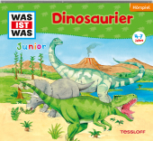 Dinosaurier, 1 Audio-CD Cover
