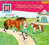 Pferde & Ponys, 1 Audio-CD Cover