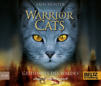 Warrior Cats, Geheimnis des Waldes, 5 Audio-CDs