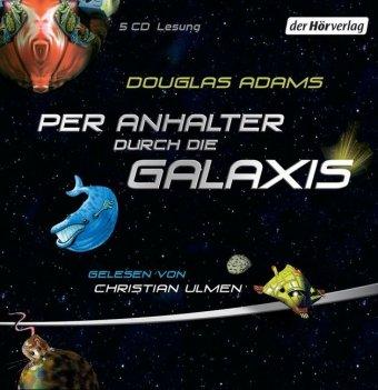 Per Anhalter durch die Galaxis, 5 Audio-CDs