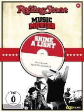 Rolling Stone Music Movies Collection, DVD-Videos, Tl.01, Shine a Light, 1 DVD, englisches O. m. U.
