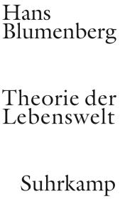 Theorie der Lebenswelt