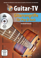 Guitar-TV, Gitarrengriffe für Pop & Rock, m. DVD