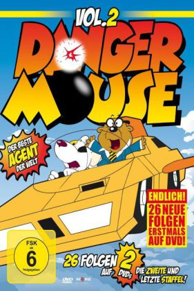 Danger Mouse, 2 DVDs, Vol.2