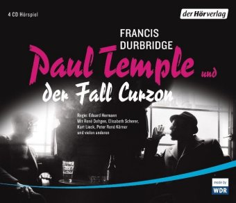 Paul Temple und der Fall Curzon, 4 Audio-CDs