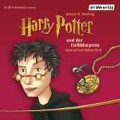 Harry Potter und der Halbblutprinz, 22 Audio-CDs
