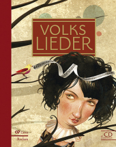 Volkslieder, m. Audio-CD