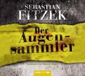 Der Augensammler, 4 Audio-CDs Cover