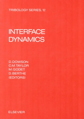 Interface Dynamics: Proceedings of the 14th Lee...
