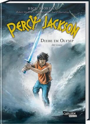Percy Jackson (Der Comic) - Diebe im Olymp