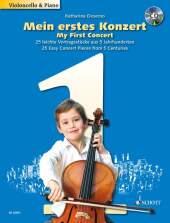 Mein erstes Konzert, Violoncello und Klavier, m. Audio-CD
