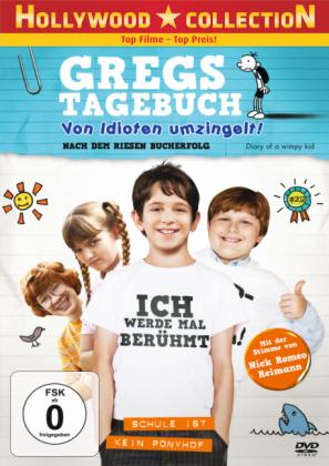 Gregs Tagebuch, Von Idioten umzingelt, 1 DVD
