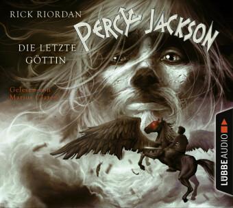 Percy Jackson, Die letzte Göttin, 4 Audio-CDs