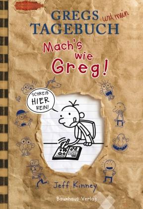 Gregs und mein Tagebuch, Mach's wie Greg!