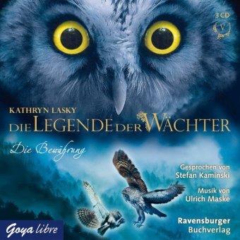 Die Legende der Wächter - Die Bewährung, 3 Audio-CDs