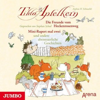 Tilda Apfelkern - Die Freunde vom Heckenrosenweg / Mini-Rupert mal zwei, Audio-CD