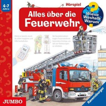 Alles über die Feuerwehr, Audio-CD