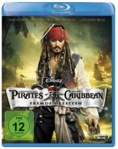 Pirates of the Caribbean, Fremde Gezeiten, 1 Blu-ray