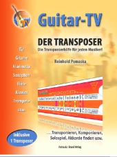 Guitar-TV, Der Transposer, m. Original-Transposer