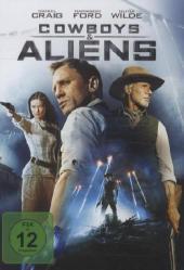 Cowboys & Aliens, 1 DVD Cover