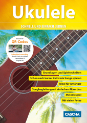Ukulele, m. Audio-CD   DVD