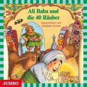 Ali Baba und die 40 Räuber, Audio-CD Cover