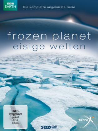 Frozen Planet - Eisige Welten. Die komplette ungekürzte Serie, 3 DVDs