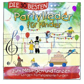 Die 30 besten Partylieder für Kinder, 1 Audio-CD