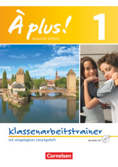 � plus! Nouvelle �dition, Bd.1, Klassenarbeitstrainer, m. Audio-CD