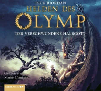 Die Helden des Olymp - Der verschwundene Halbgott, 6 Audio-CDs
