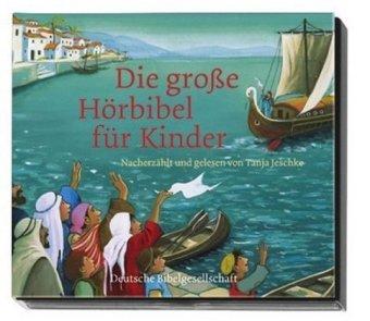 Die große Hörbibel für Kinder, 2 Audio-CDs