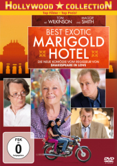 Best Exotic Marigold Hotel, 1 DVD Cover
