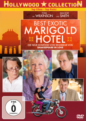Best Exotic Marigold Hotel, 1 DVD
