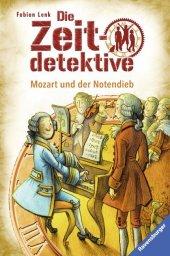 Die Zeitdetektive - Mozart und der Notendieb Cover