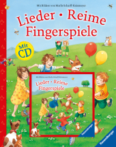 Lieder, Reime, Fingerspiele, m. Audio-CD